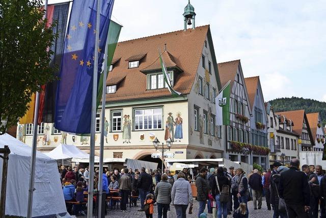 Ein Tag für die Familie in Haslachs Altstadt
