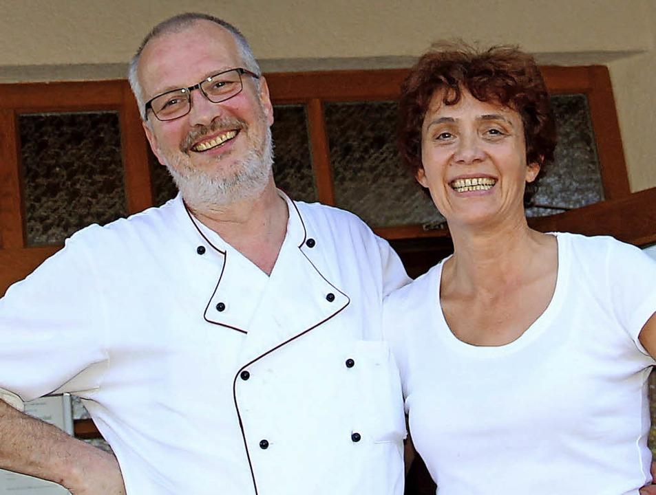 Jürgen und Karin Klaproth geben den Kreuzhof ab.  | Foto: Eva Korinth
