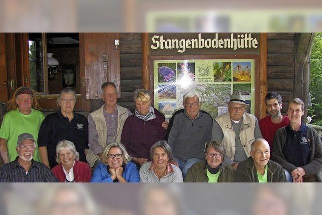 Seniorentreff in der Stangenbodenhütte