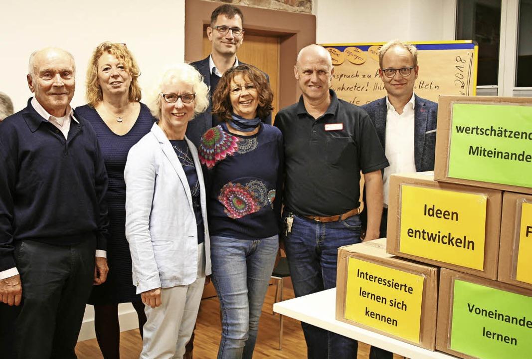 Engagierte Vörstetter und Caritasmitar...s Senioren und Bürger zusammenbringt.   | Foto: Anja Kunz