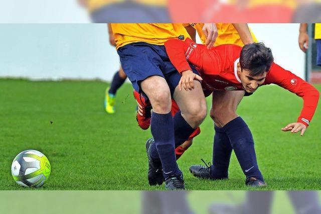 Der FC Löffingen beim Berg-und-Tal-Team