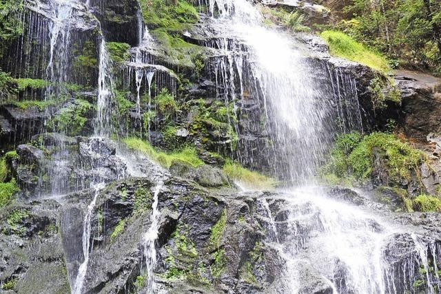 Imposante Wassergebilde