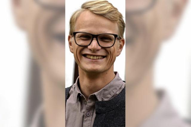 Der junge Pfarrer sprüht vor Ideen