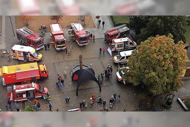 Schlemmen und feiern mit der Feuerwehr