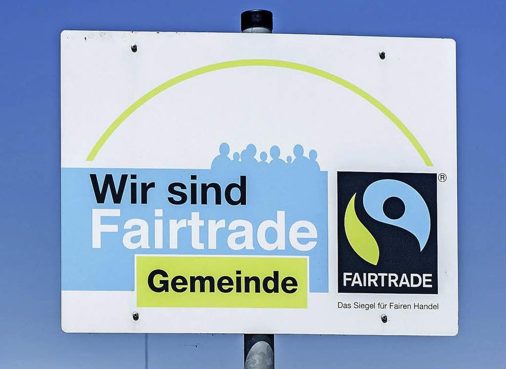 So ein Schild könnte bald auch in Waldkirch stehen.   | Foto: Schoenen