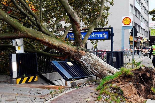 Sturm Xavier: Bahn-Reisende müssen mit Ausfällen rechnen