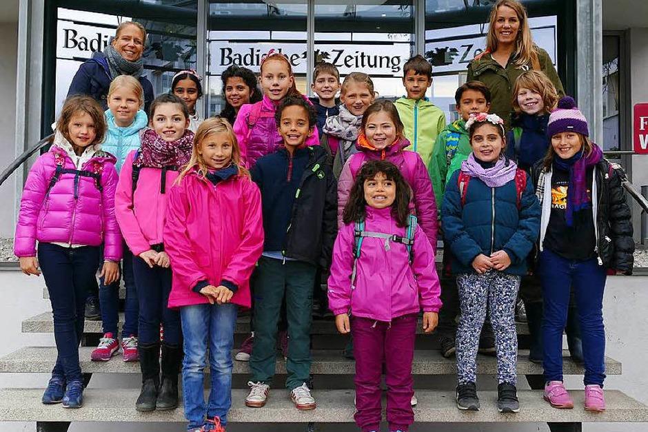 Klasse 4 der Oberlin Kinder-Universität in Freiburg (Foto: Samah Al Taai)