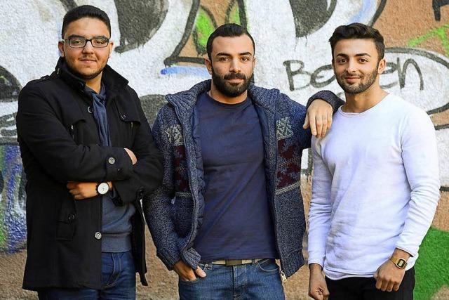 Syrern gelingt Integration und Abitur am Walter-Eucken-Gymnasium