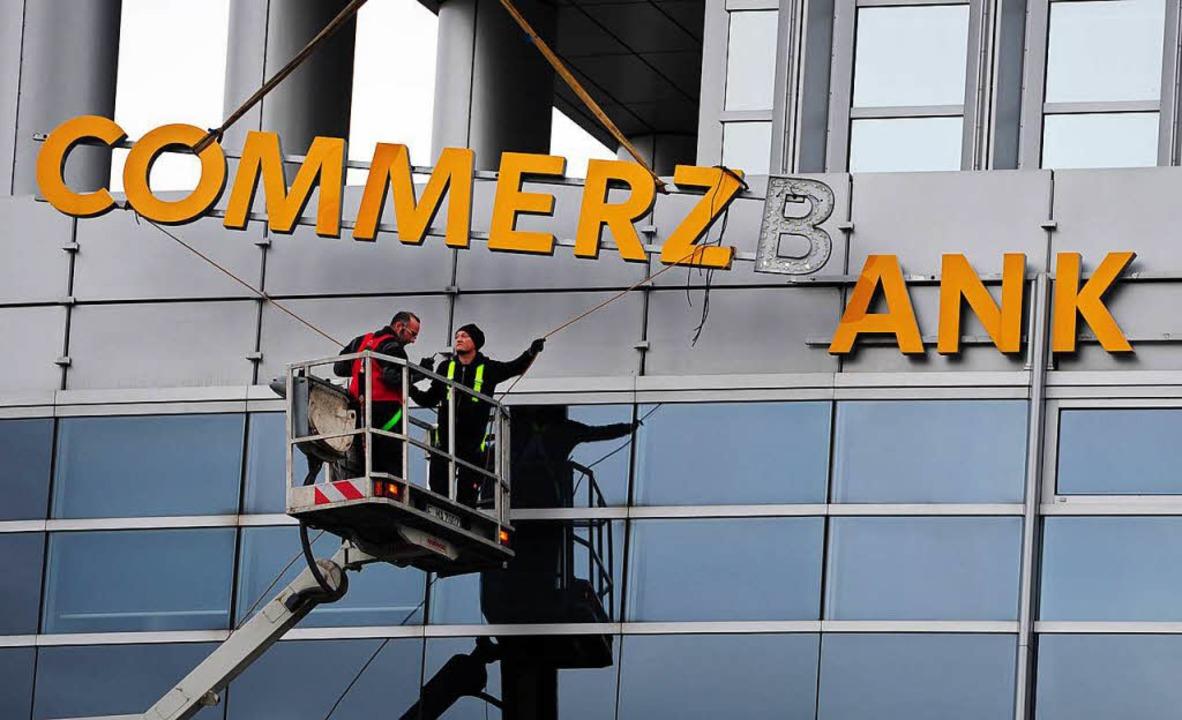 In Südbaden will die Commerzbank nicht abbauen.    Foto: dpa