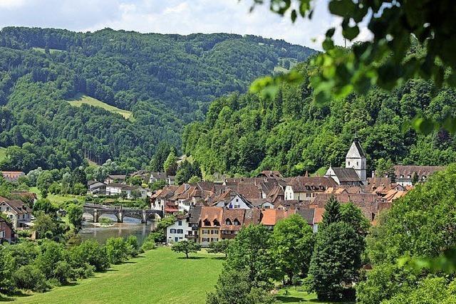 Von Delémont über den Jura an den Doubs ab Badenweiler