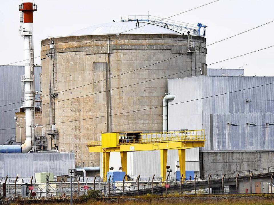 Atomkraftwerk Fessenheim.   | Foto: Siegfried Gollrad