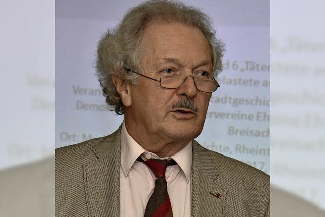 Professor Wolfram Wette über sein neues Buch