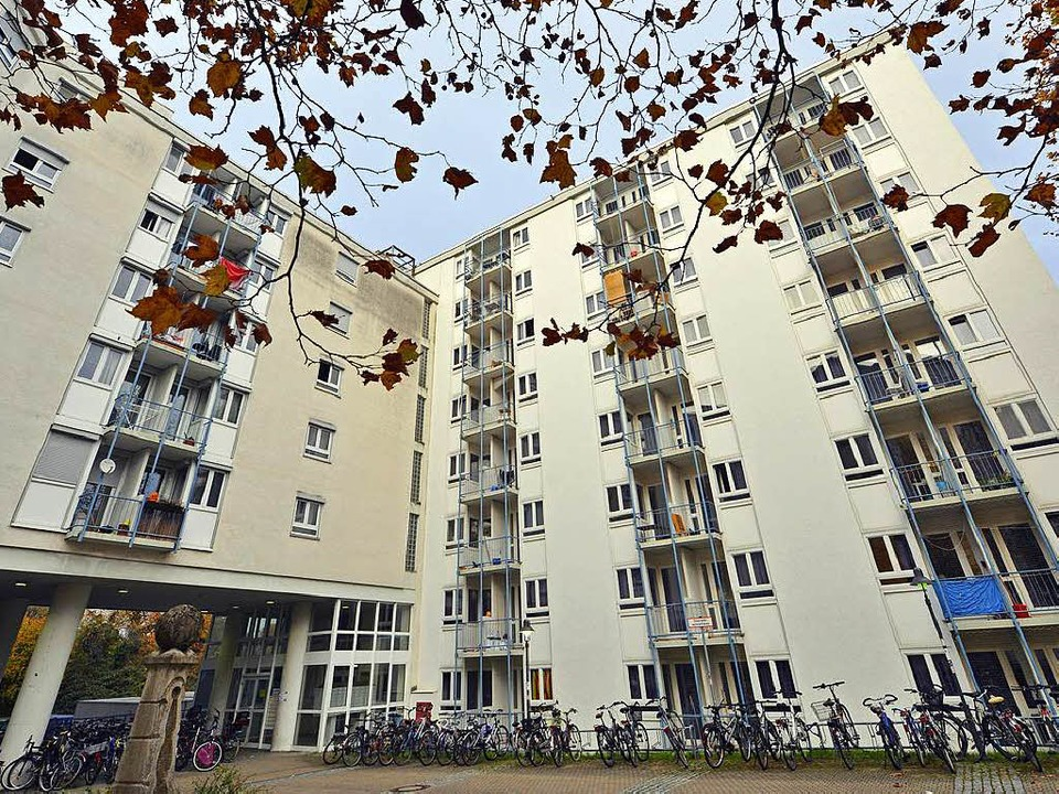 In der Studentensiedlung am Seepark wu...ie immer ein Notquartier eingerichtet.  | Foto: Michael Bamberger