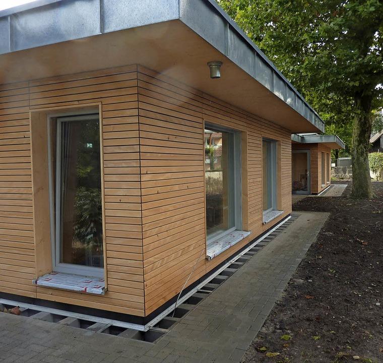 Realisiert in der Rekordzeit von nur f...er Kindergarten in March-Neuershausen   | Foto:  rolf disch
