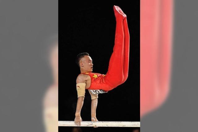 Xiao Ruoteng wird Mehrkampf-Weltmeister im Turnen