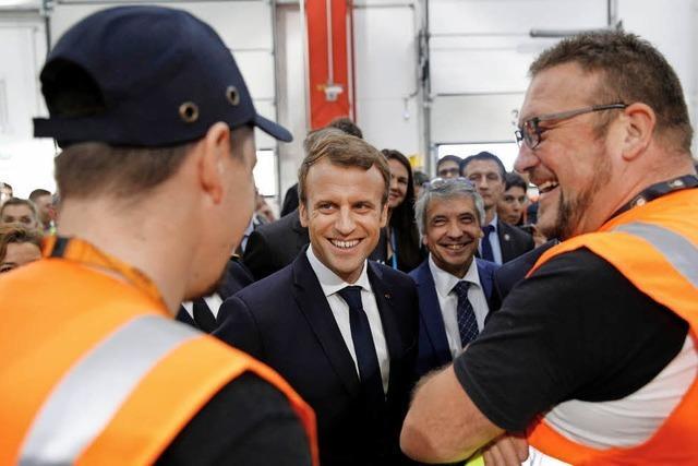 Empörung über Pläne des französischen Staatschefs Macron
