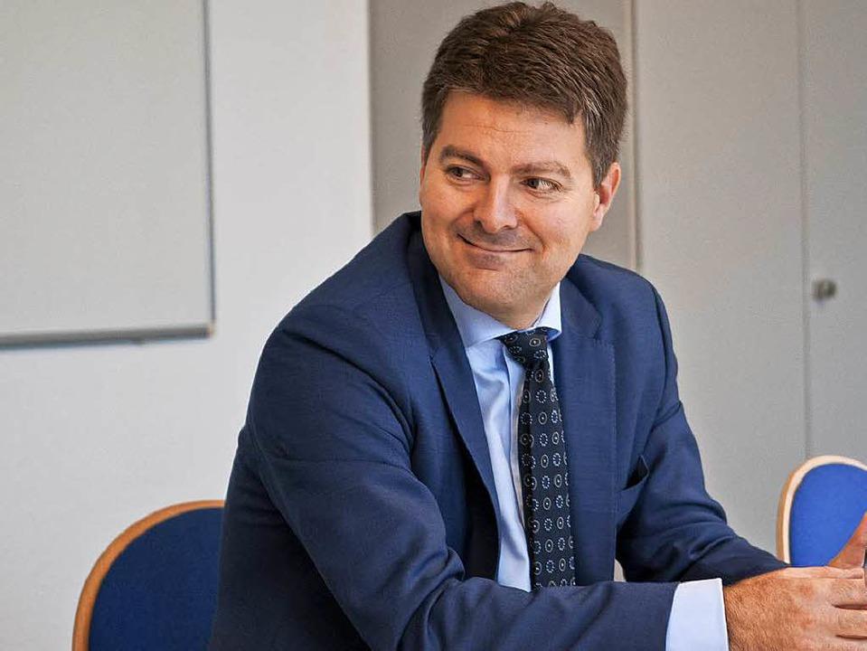 Andreas Schwab will Andreas Jung als  ...vorsitzender der CDU Südbaden beerben.    Foto: Nils Oettlin