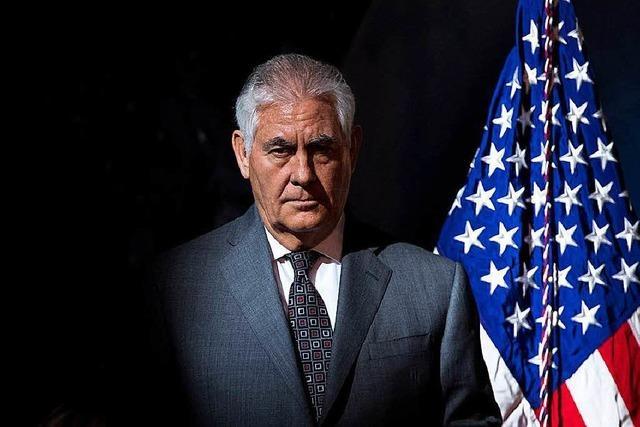 Geht er oder bleibt er? Druck auf Rex Tillerson wächst