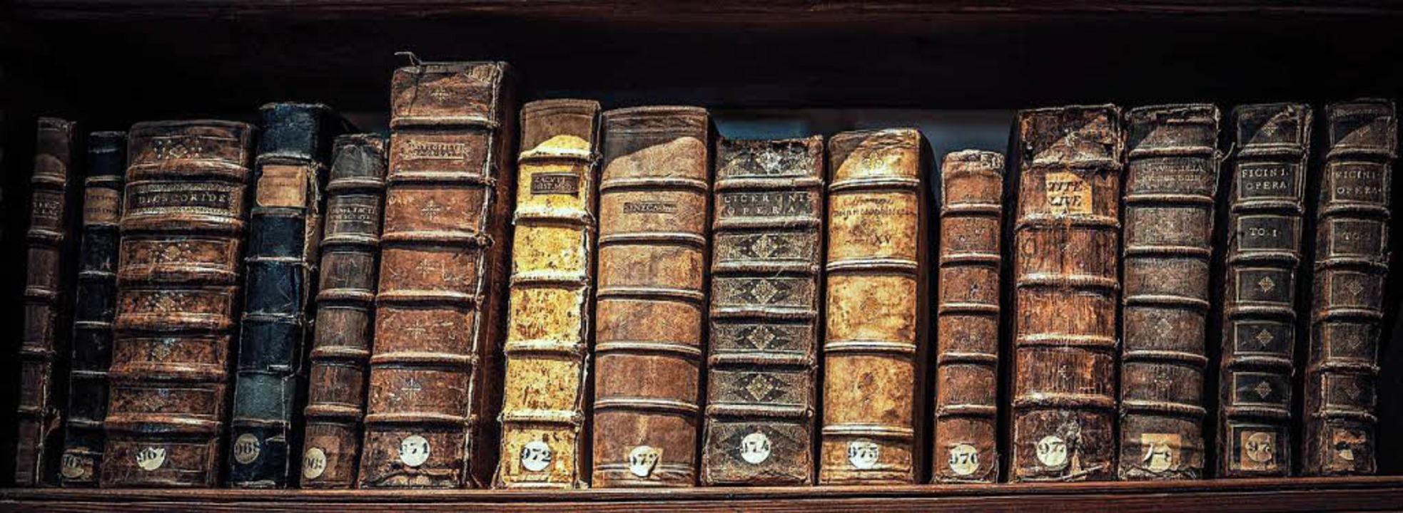 Alte Bücher sind als Kulturgut zu schützen.  | Foto: Frédéric Prochasson - Fotolia