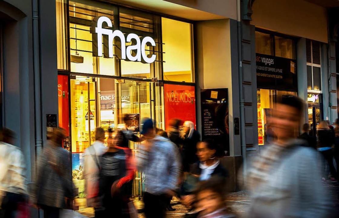 Ein Land in literarischer Aufbruchstimmung: Fnac-Buchhandlung in Lille  | Foto: PHILIPPE HUGUEN