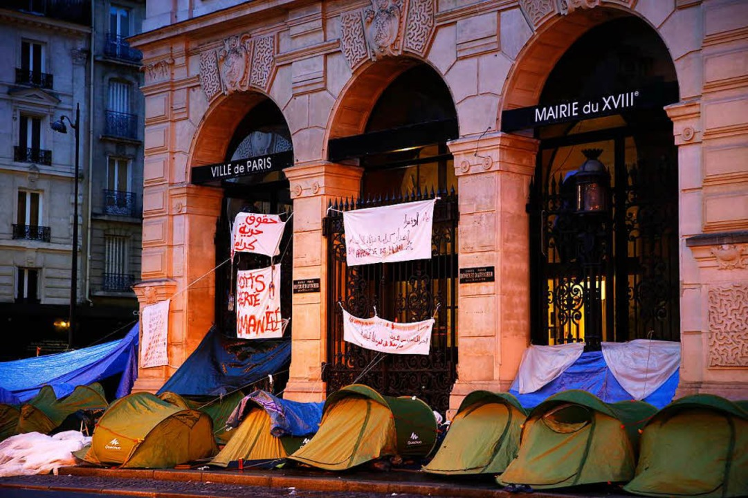 Die Wut der Besiegten:  Migrantencamp mitten in der Hauptstadt  | Foto: FLORIAN DAVID