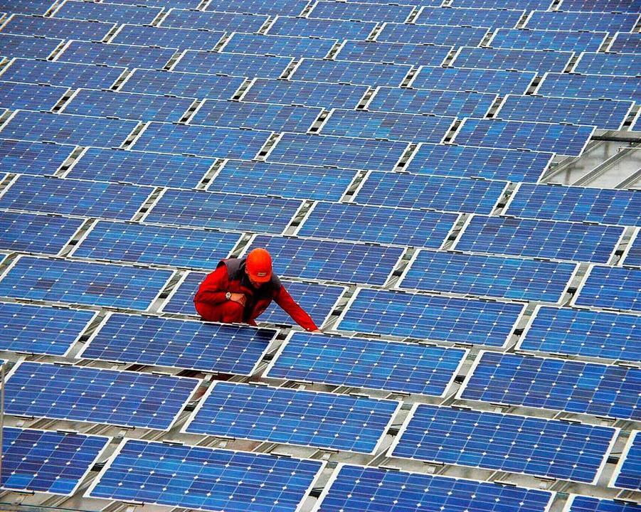 Solarenergie  | Foto: Ingo Schneider