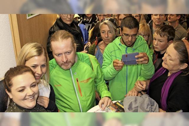 Ein Extremsportler begeistert 400 Zuhörer