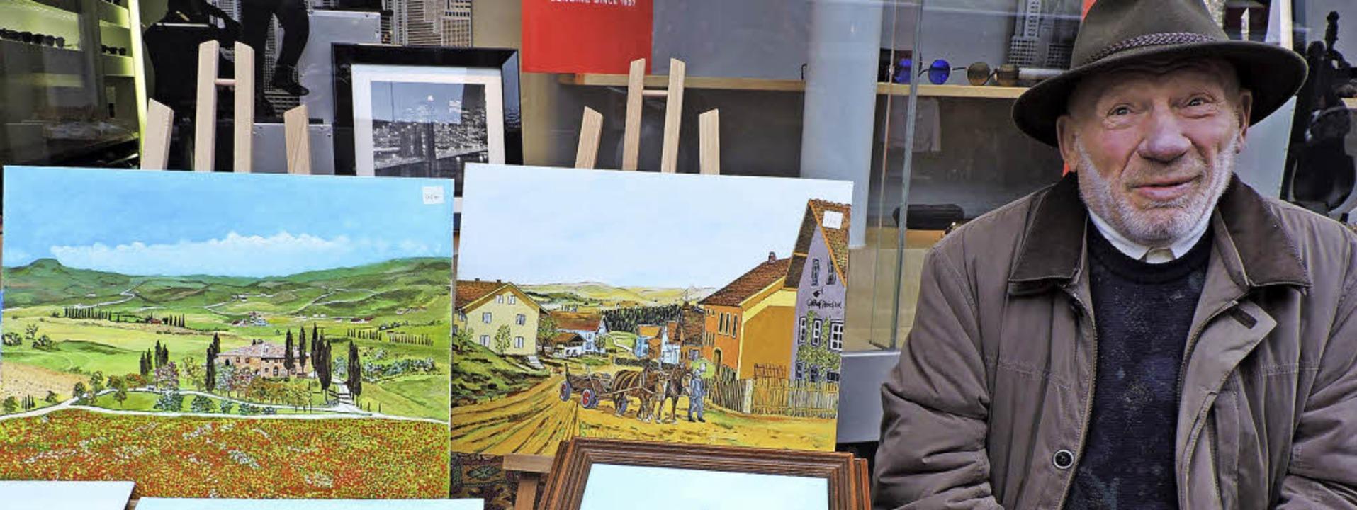 Erich Müller aus Kollnau fand im Rente...t dem Hobby auch gern auf Reisen nach.  | Foto: Katharina Timm