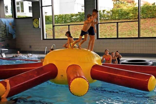 Größeres Angebot für Frühschwimmer