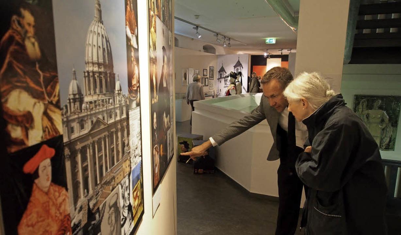 Die Ausstellung Reformationen beleucht...le Geschehen im historischen Kontext.     Foto: Boris Burkhardt