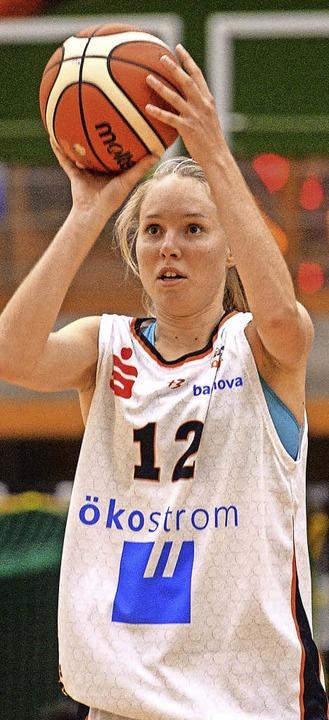 Spielte besser als zuletzt: Ilka Hoffmann     Foto: Patrick Seeger