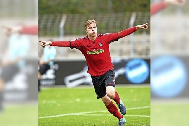 Negativserie beendet - SC Freiburg II besiegt Elversberg mit 1:0