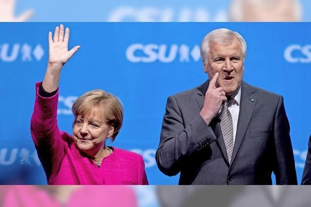 CDU und CSU einigen sich bei Obergrenze