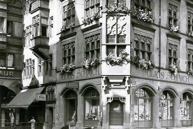 Am Martinstor wurden für die Straßenbahn historische Häuser geopfert