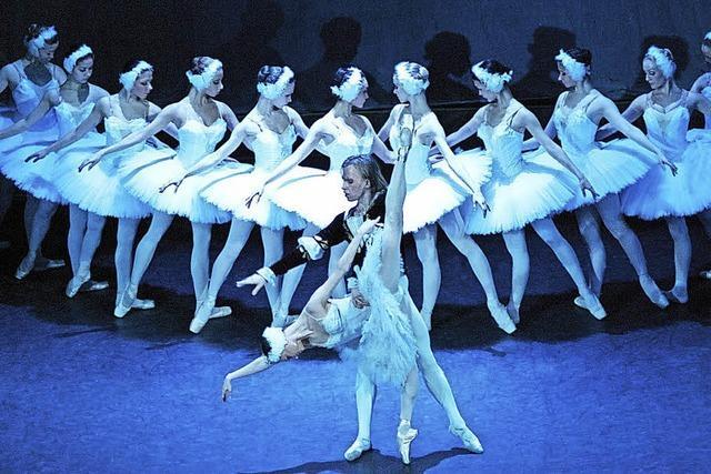 Ballettmärchen aufgeführt vom Russischen Nationalballett im Gloria-Theater in Bad Säckingen