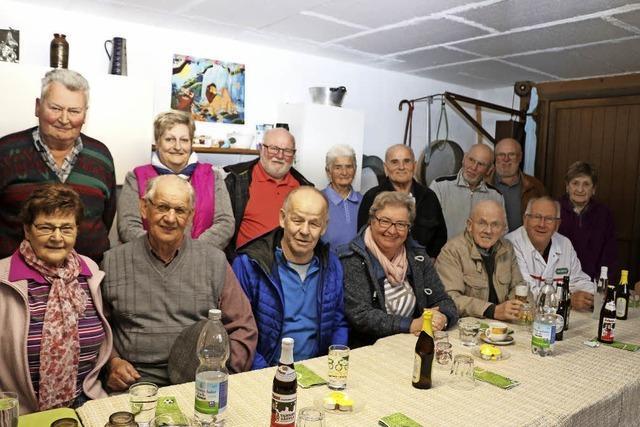 Rentnerstammtisch pflegt Kontakte