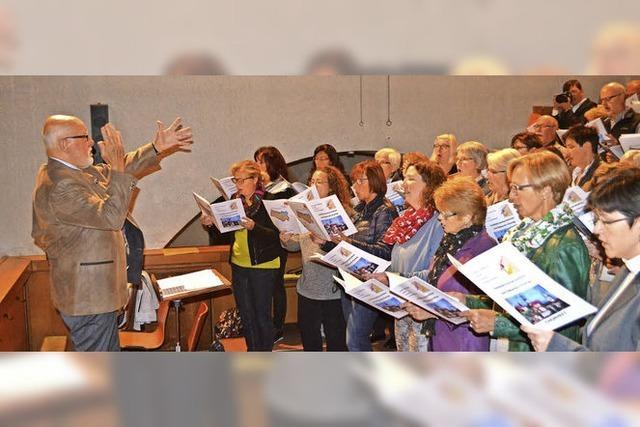 Der Kirchenmusik fast lebenslang gedient