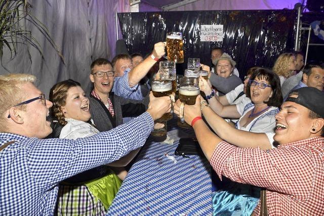 Bergemer Landjugend feiert bayerisch