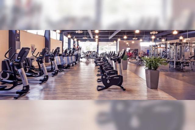 Neues Fitness-Loft am Start