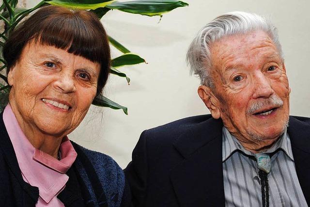 Paula und Rudolf Röttele feiern Gnadenhochzeit