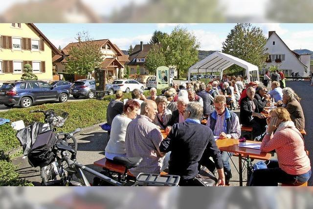 Sonniges Herbstfest