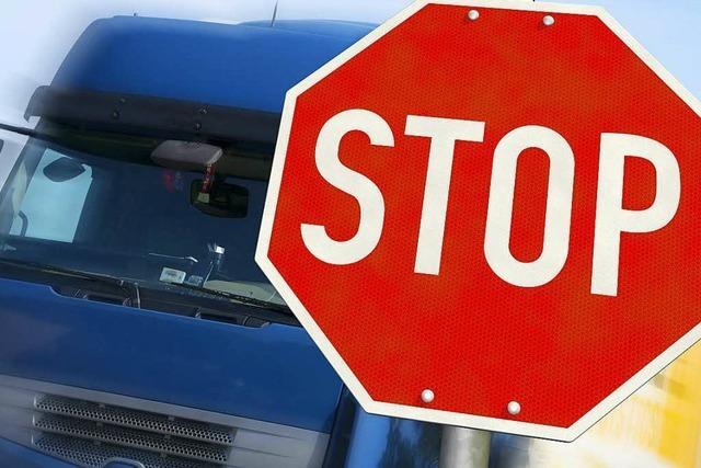 Jeder fünfte Lkw fällt beim TÜV durch