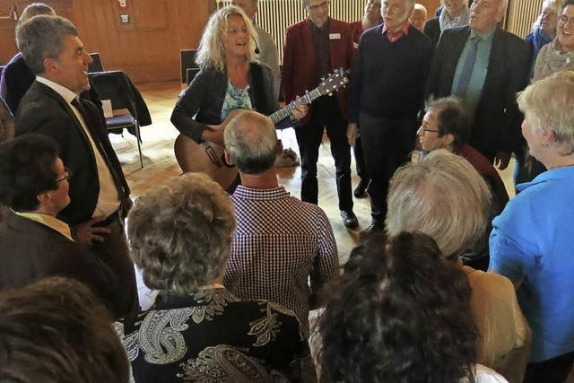 Psychiatriezentrum Emmendingen therapiert seit fünf Jahren mit Singen