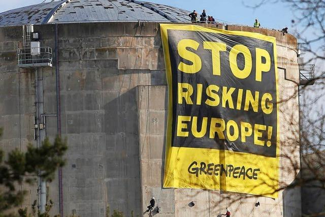 Greenpeace bemängelt Sicherheitslücken bei AKWs in Frankreich und Belgien