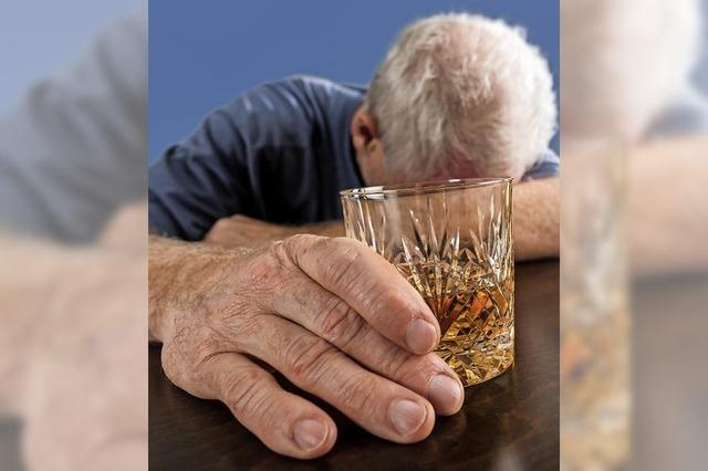 Komasaufen auch bei älteren Menschen ein Problem