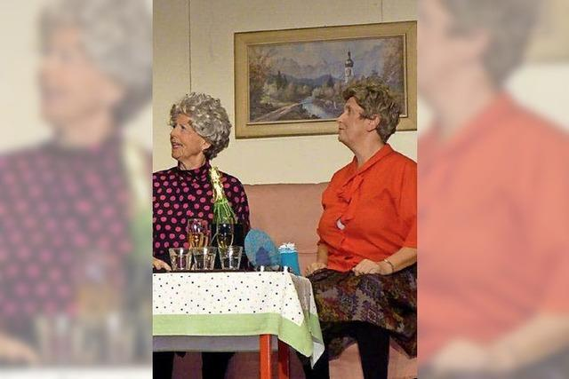 Kriminelle Rentnerinnen und heitere Lieder