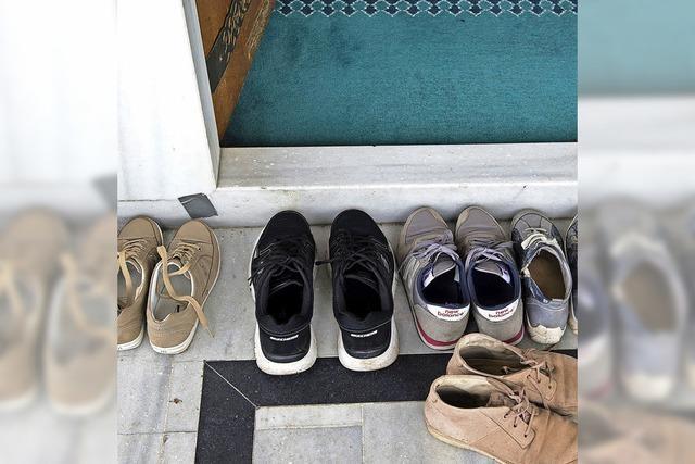 Gebrauchte Schuhe können gut tun