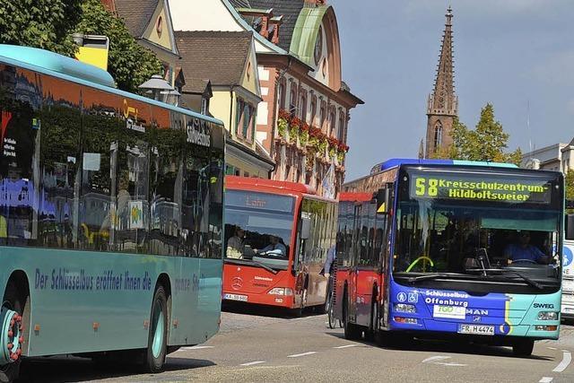 Sorgen um Busverbindungen in den Tagesrandzeiten des Fahrplans