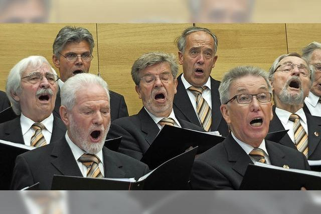 Chor '72 ohne Berührungsängste