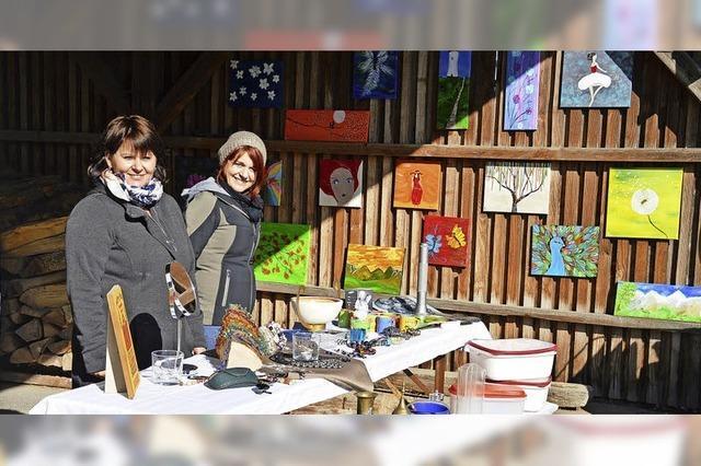 Dorfflohmarkt in Langenau kommt gut an